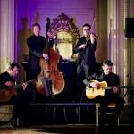 Groupe de jazz manouche à l' Hôtel Georges V - Paris