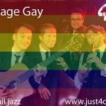 Orchestre de jazz pour mariage gay