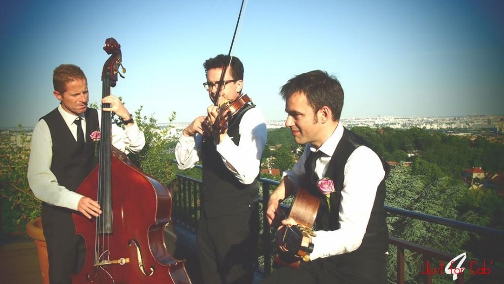 trio jazz manouche mariage